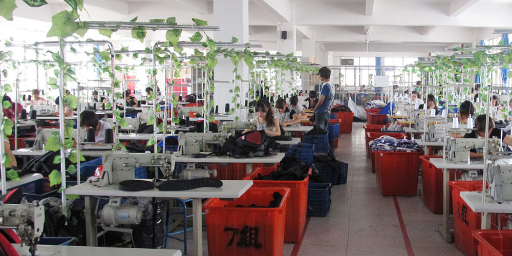 Bags factory in China