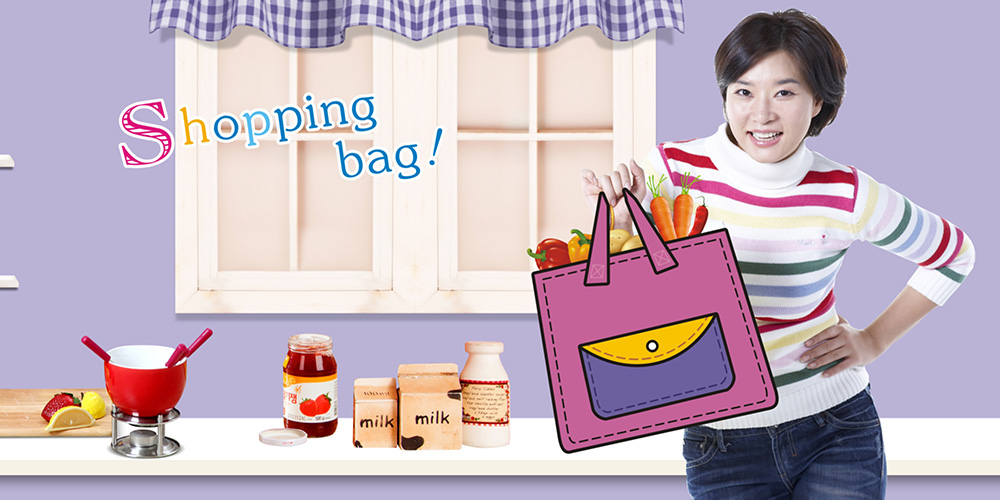 Shopping bags manufacturer