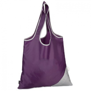 Foldable promotional shopping bag