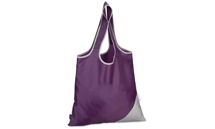 Foldable promotional shopping bag