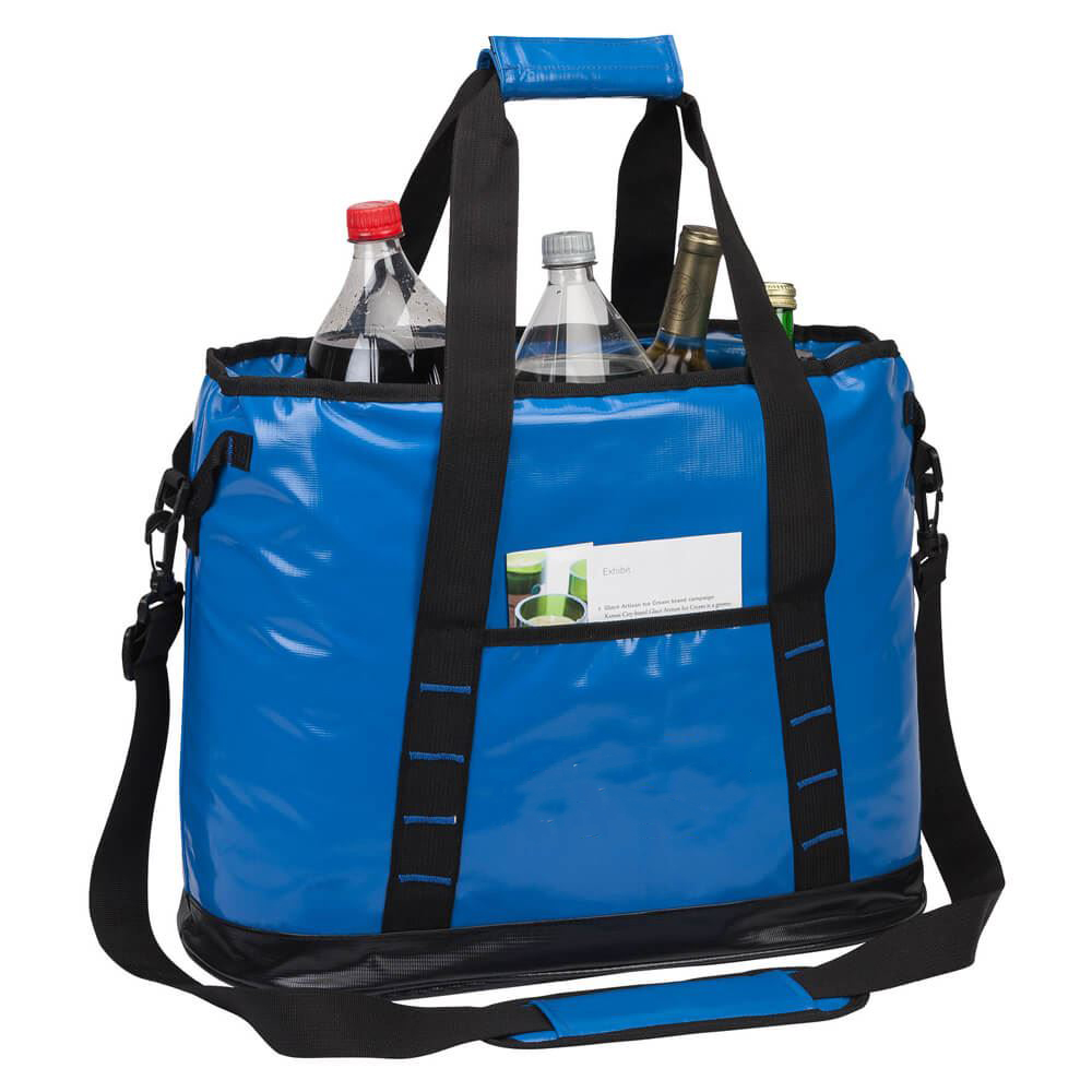 Water-Resistant Tarpaulin Cooler Bag