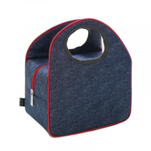 denim cooler bag