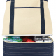 Tote canvas cooler