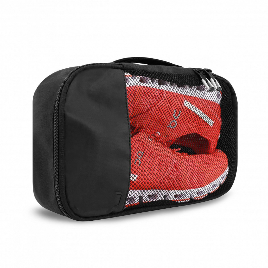 Shoe bag with mesh