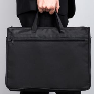 Portable zipper tote bag